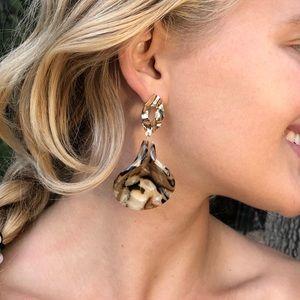 🐚Acrylic Resin Boho Shell Earrings!🐬